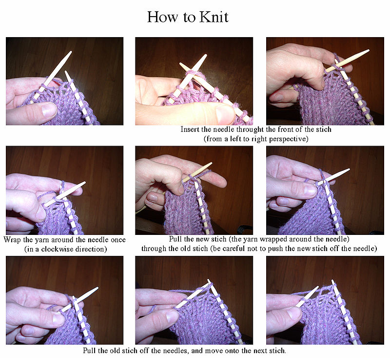 Knitting Purl Stitch Continental : ?What s That You re Doing?? The Sweaty Knitter, Weaver and Devotee of Other...