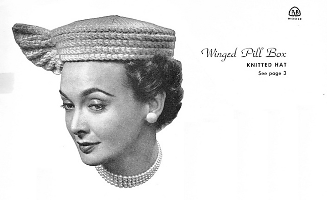 Knitting Pattern For Pillbox Hat : Hats Off: Cloches & Perts The Sweaty Knitter, Weaver and Devotee of Oth...