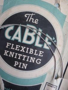 CableKnittingNeedle