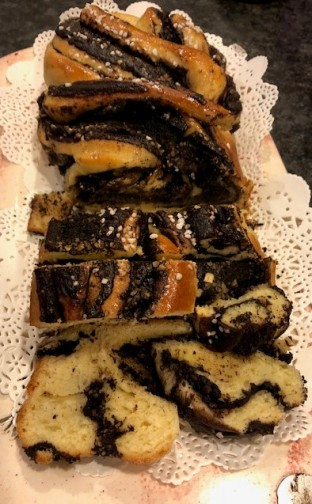 Chocolate babka.