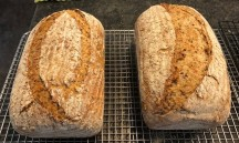 Multi-seeded sour rye.