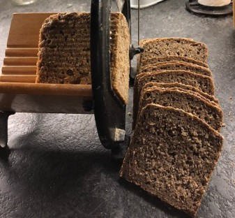 Rugbrød (rye bread, sourdough)